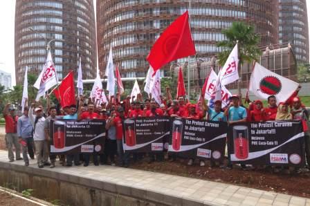 CokeJakartaHQprotest