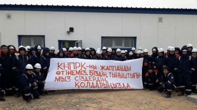 Kazakhstanoilworkers